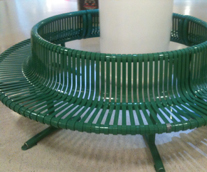 Protech Powder Coating, Norfolk, Communal Seating Powder-Coated